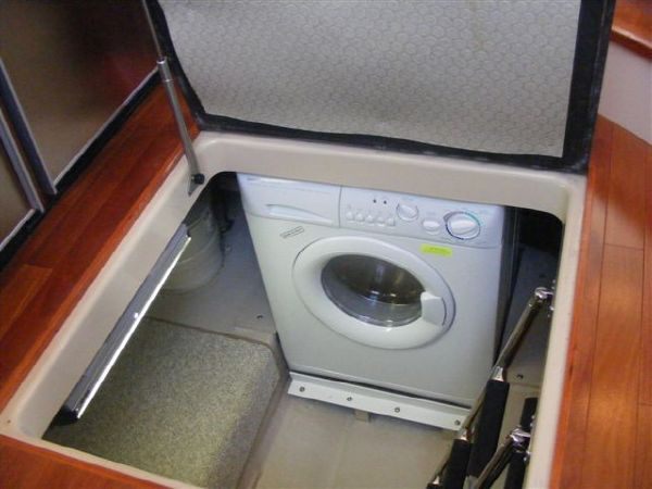 Washer Dryer under Galley Floor