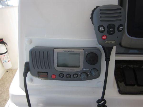 New Raymarine VHF