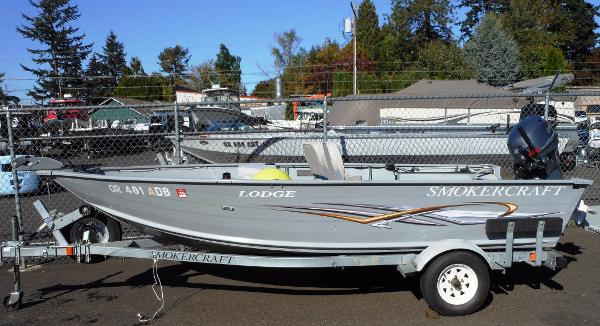 Smoker craft new and used boats for sale for Smoker craft alaskan 15