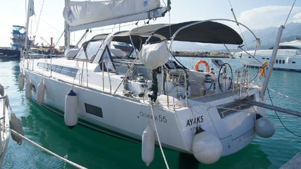 Beneteau Oceanis 55 Beneteau Oceanis 55 - 'Ayaks' (2015)