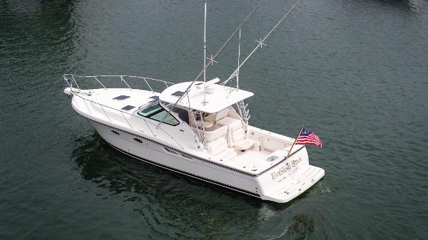 Tiara 3600 Open Port Side View