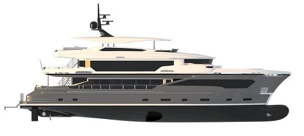 AVA Yachts Kando 130