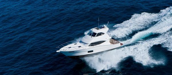 Maritimo 440 Offshore Convertible View From Above