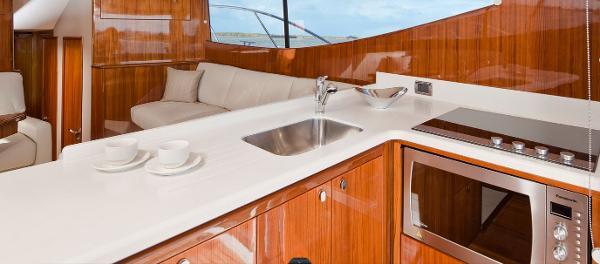 Maritimo 440 Offshore Convertible Galley