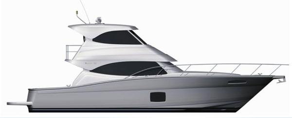 Maritimo 440 Offshore Convertible Profile