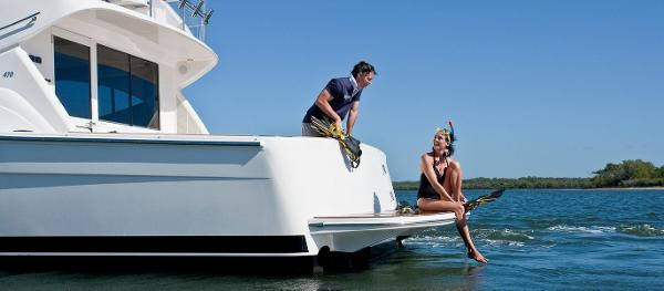 Maritimo 470 Offshore Convertible Stern