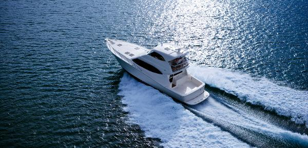 Maritimo 500 Offshore Convertible View From Above