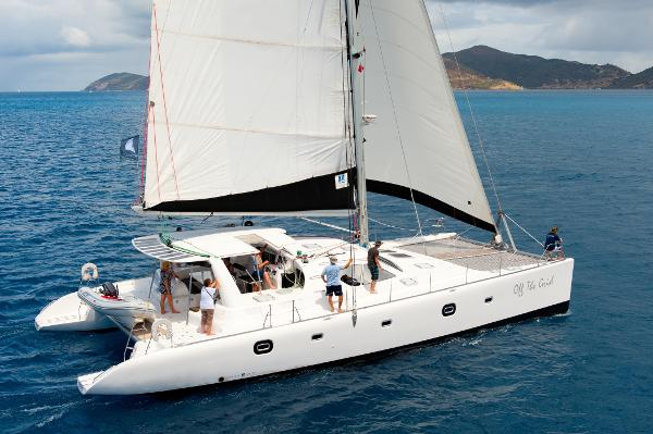 Voyage Yachts 600 catamaran