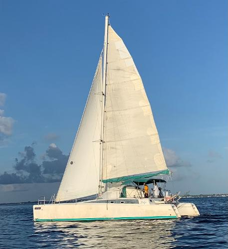 Fountaine Pajot FIDJI 39 Under sail