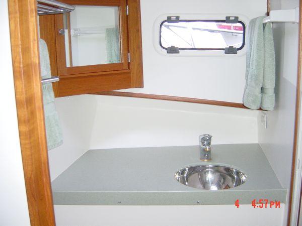 Head:  sink area