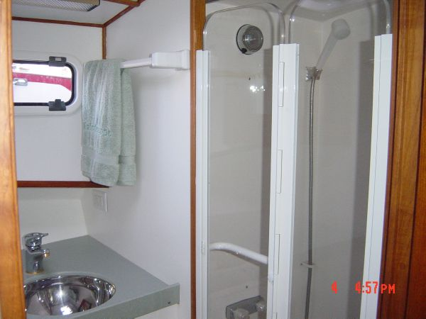 Head: stall shower area