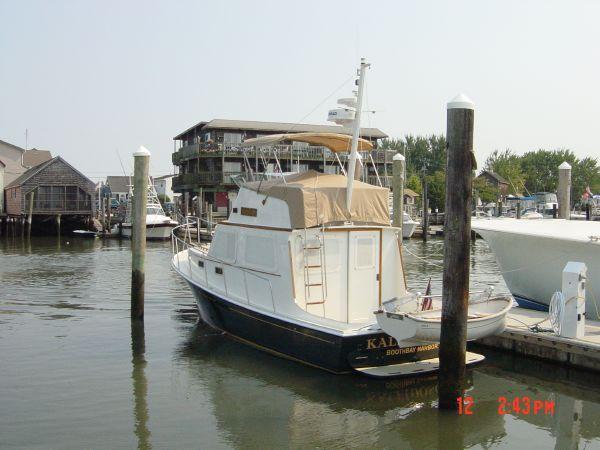 Aft exterior shot of boat