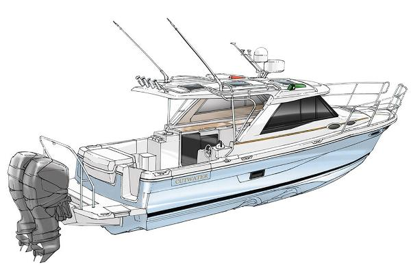 Cutwater C-30 Sport Coupe