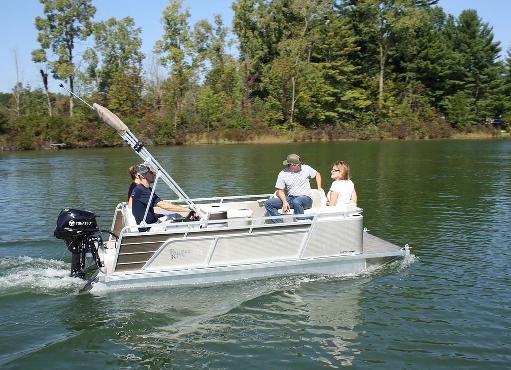 Paddle King Lo Pro Compact Pontoon