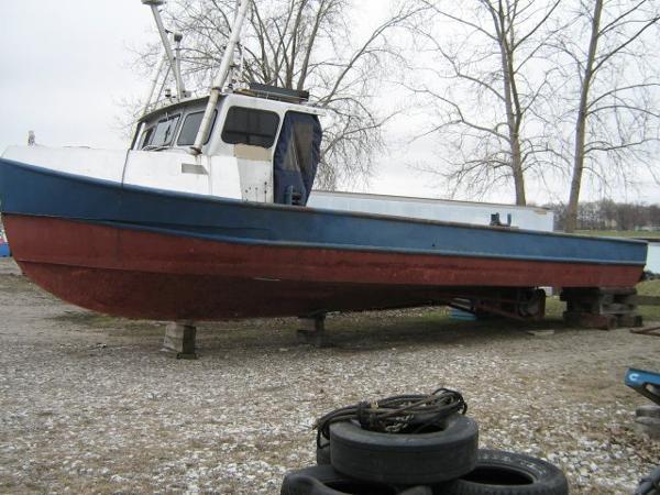Steel Trap Net Fishing Vessel Twin Screw
