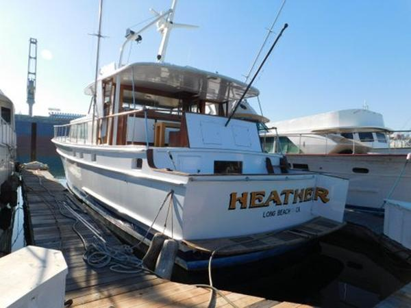 Stephens FLYBRIDGE MOTORYACHT Heather