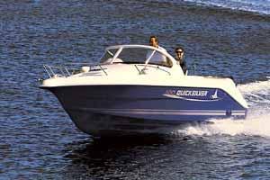 Quicksilver 550 Walkaround Manufacturer Provided Image: 550 Walkaround
