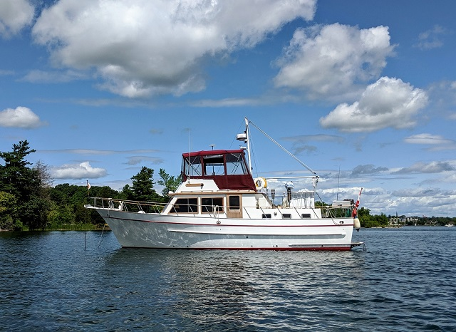 """DeFever """"41"""" Trawler"""