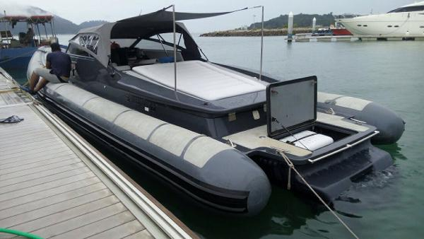 FB Design 42 Chase Tender / Sport Rib