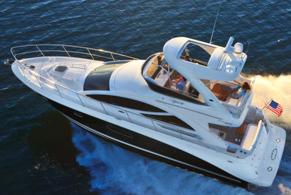 Sea Ray 450 Sedan Bridge Brochure Picture