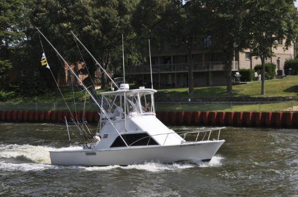 Blackfin 32 Sportfisherman Profile