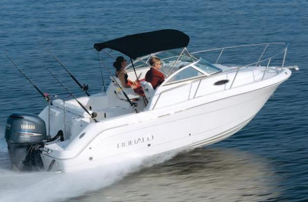 Robalo R225 Walkaround Manufacturer Provided Image