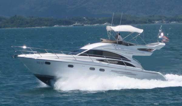 Princess P42 Motor Yacht Princess P42-Profile