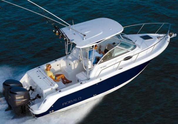 Robalo R265 Walkaround Manufacturer Provided Image