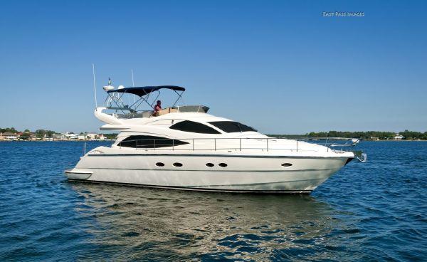 56 Aicon Yachts Flybridge Profile