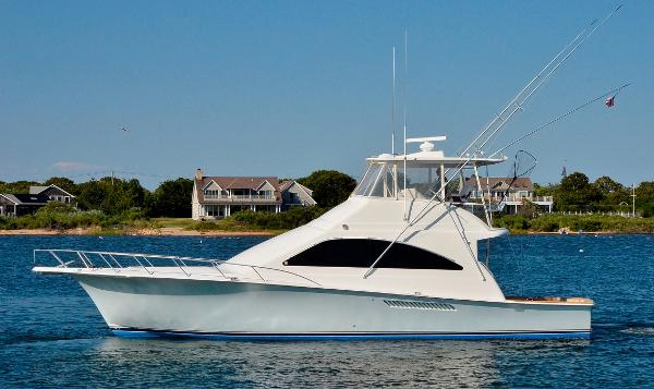 Ocean Yachts 50 Super Sport Port Side