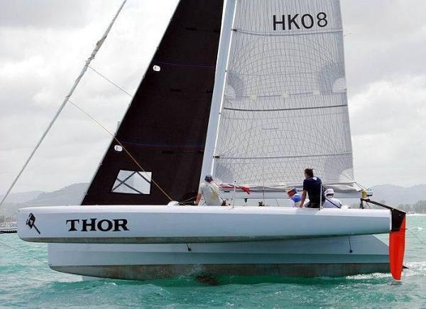 SeaCart 30 Trimaran- trailarable