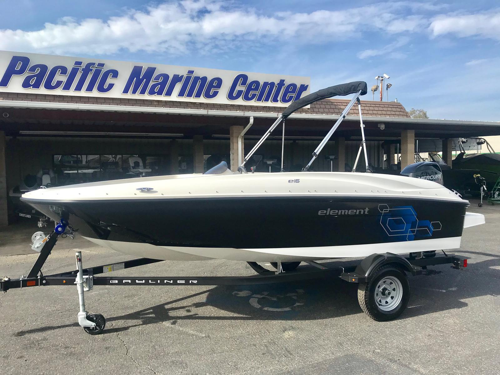 Bayliner Bayliner Element E16 160 w/ 60 HP Mercury!