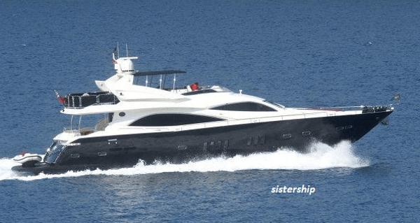 Sunseeker 90 Yacht Sailing Sunseeker 90