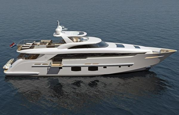 Monte Fino S 32M Custom Superyacht Manufacturer Provided Image: Monte Fino S 32m