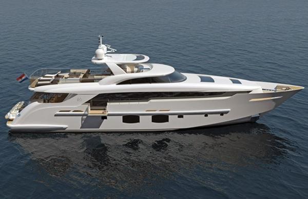 Monte Fino S 32M Custom Superyacht Manufacturer Provided Image: Monte Fino S 32m