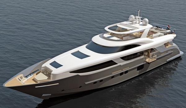 Monte Fino S 35M Custom Superyacht Manufacturer Provided Image: Monte Fino S 35m