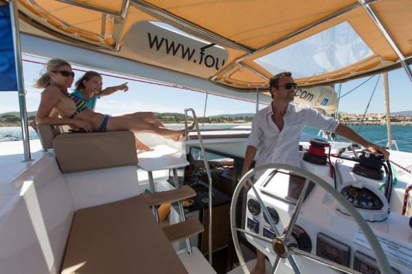 Fountaine Pajot Helia 44 Helm