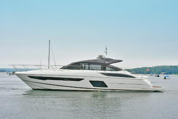 Princess V58 Port Side