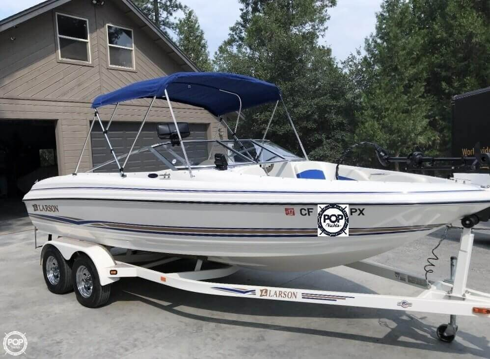 Larson 210 SEI Fish and Ski 2003 Larson 210 SEI Fish and Ski for sale in Avery, CA