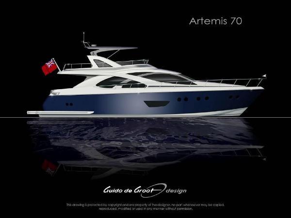Selene Artemis Flybridge Motor Yacht