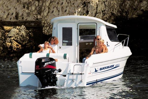 Quicksilver 650 Pilothouse Manufacturer Provided Image: 650 Pilothouse