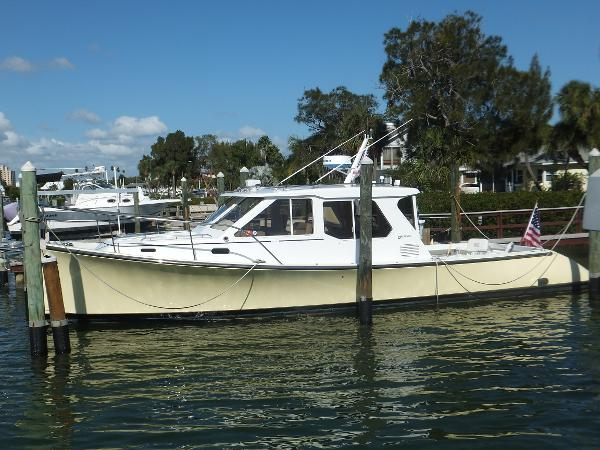 True North 38 Explorer No Hurricane Damage! True North 38 Side View