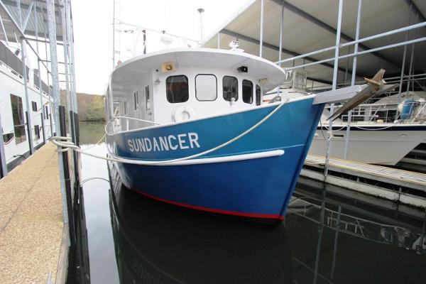 Valmont A. Landry Shipyard Custom Shrimp Trawler
