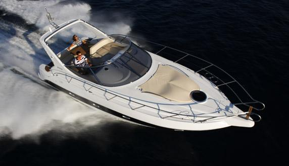 Sessa Marine C35 Manufacturer Provided Image: From Above