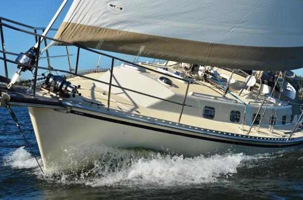 Caliber 40 LRC Sailing