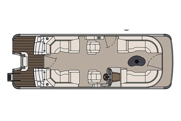Avalon Catalina Platinum Quad Lounge - 25'