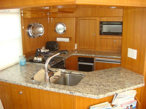 40' Nordhavn galley photo1