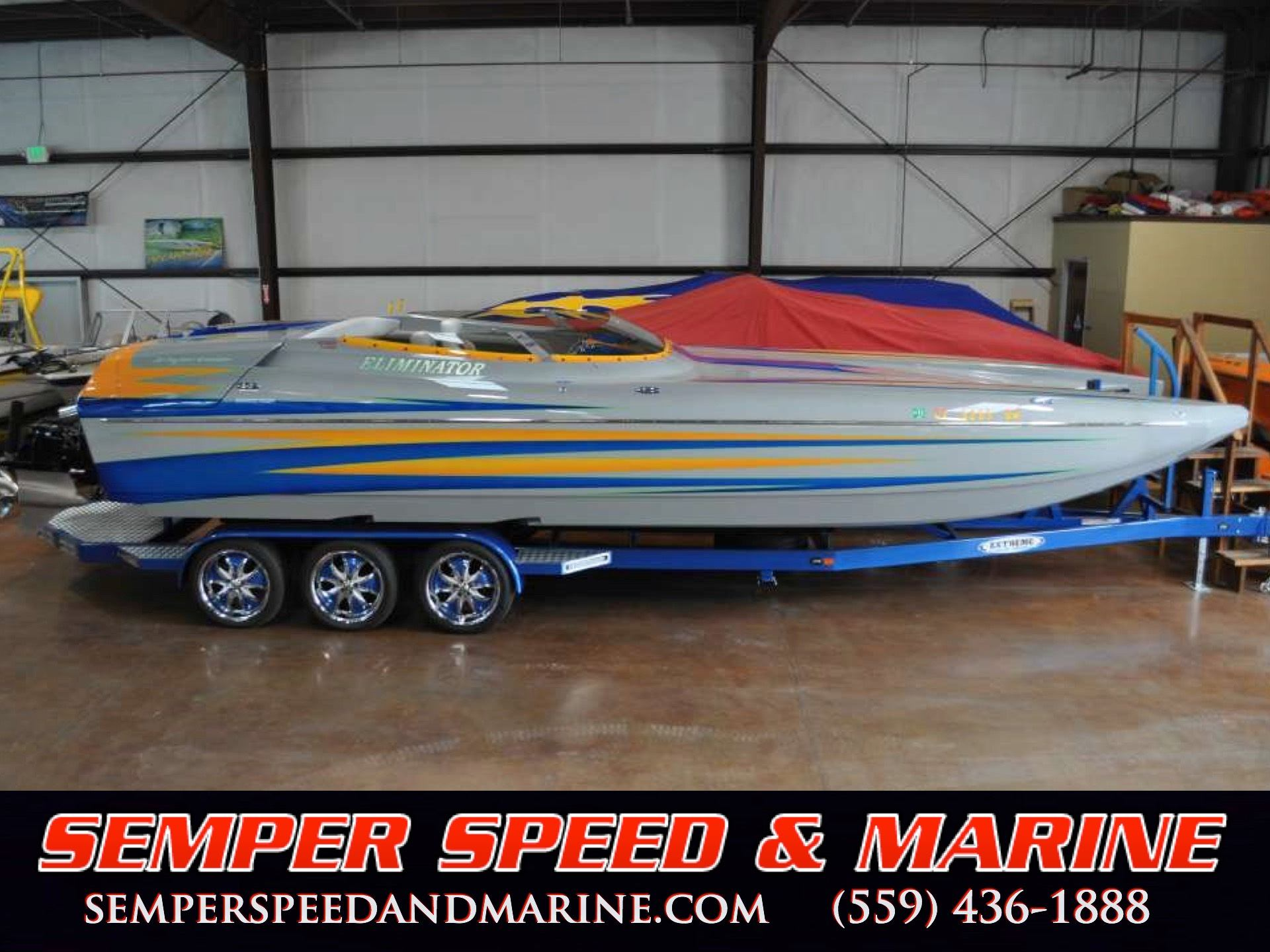 Eliminator Boats 28 ft. Daytona Speedster