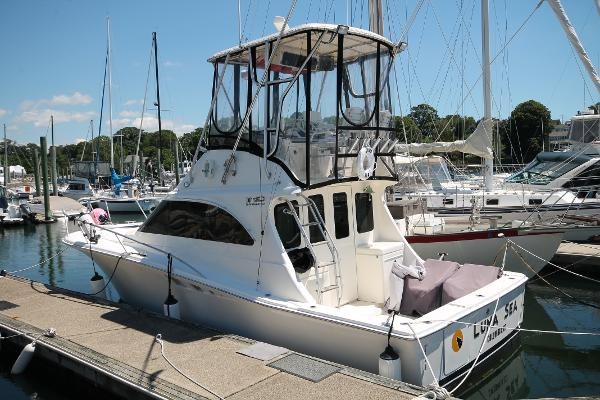 Luhrs Tournament 320 Convertible Port Stern