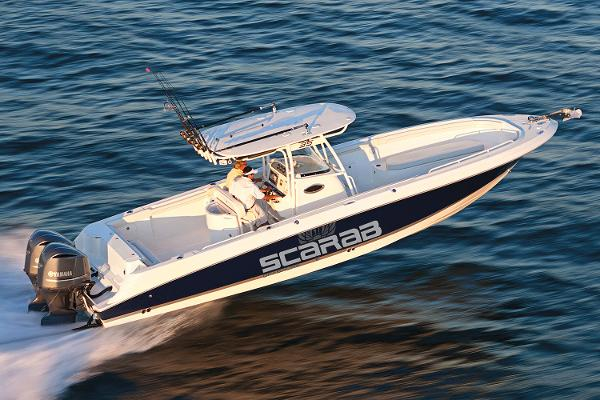 Wellcraft 35 Scarab Offshore Tournament Manufacturer Provided Image